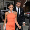 David and Victoria Beckham Pictures at Simon Fuller's Party