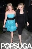 Anna Paquin and a friend left BOA Steakhouse after her show's wrap party in West Hollywood.
