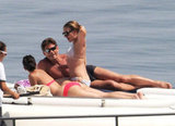 Scarlett Johansson Celebrates a Major Payday With a Bikini Cruise