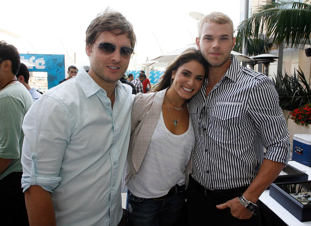 Nikki Reed cozied up next to her costars in 2009.