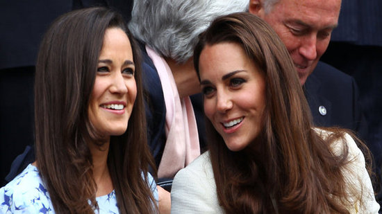 Video: Kate and Pippa's Day at Wimbledon With David and Victoria