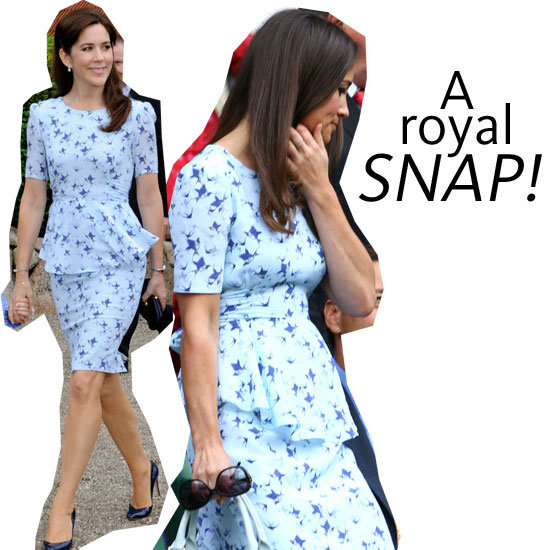 Snap! Pippa Middleton Steals Princess Mary's Project D Dress