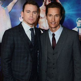 Magic Mike European Premiere Pictures