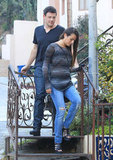 Cory Monteith and Lea Michele dating in LA.