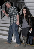 Channing Tatum and Jenna Dewan went to a movie in LA in January 2010.