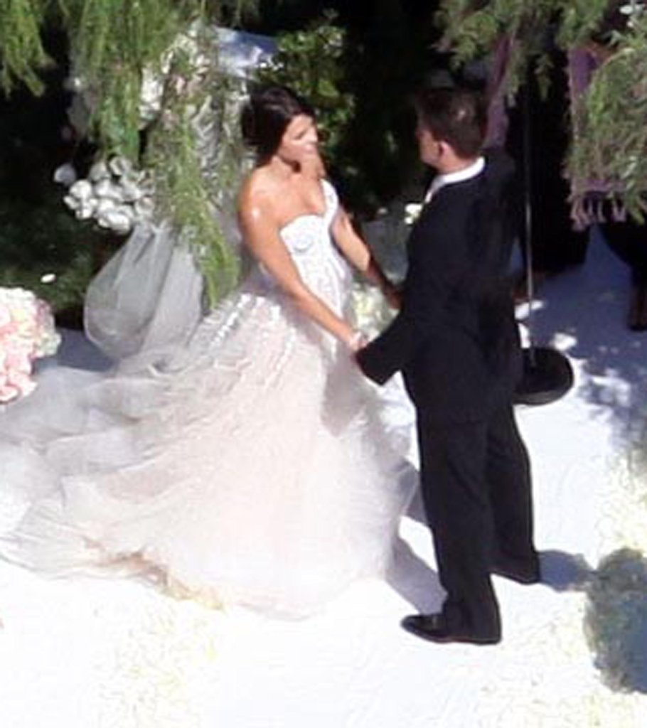 Channing Tatum married Jenna Dewan in a July 2009 ceremony in Malibu, CA.