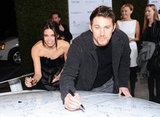 Jenna Dewan and Channing Tatum got in on the fun at the Vanity Fair Oscar party in LA in February 2011.