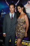 Matthew McConaughey and Camila Alves stepped out together for the Magic Mike premiere in London.