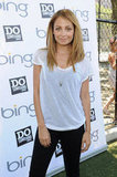 Nicole Richie attended the Bing Summer of Doing Event in NYC.