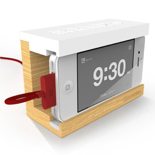 Snooze iPhone Alarm Clock Dock