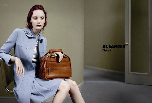 We're always a fan of Jil Sander Navy's mastery of cool-girl basics.