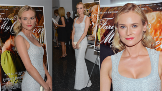 Diane Kruger Inspires Awe (and Envy) in Curve-Hugging Alaia