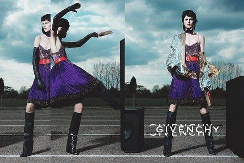 Stella Tennant stars in Givenchy's Fall '12 campaign, shot by Mert Alas & Marcus Piggott.