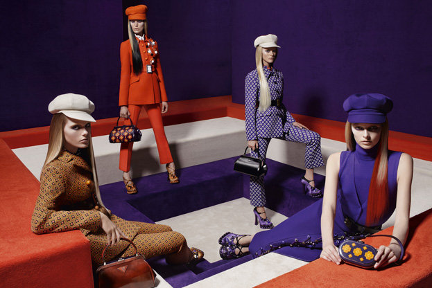 Are you a fan of Prada's homage to mod style?