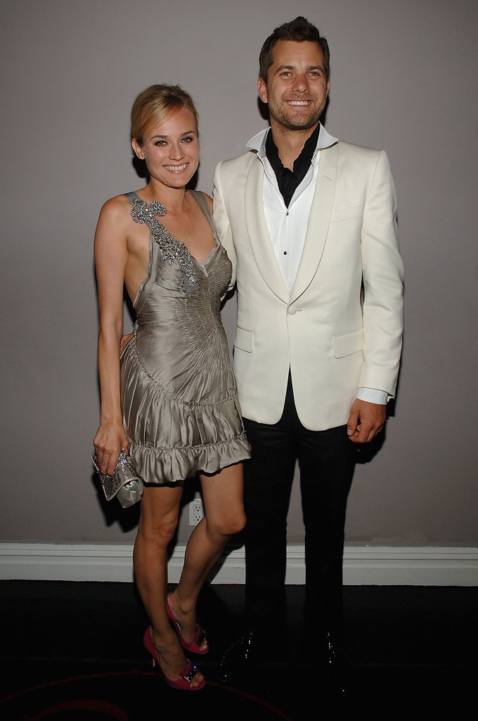 Diane Kruger and Joshua Jackson looked stunning together at a Met Gala after party in NYC in May 2008.