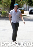 Liam Hemsworth ran errands in LA.
