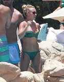 Hayden Panettiere vacationed with friends this July in Mexico.