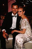 Diane Kruger and Joshua Jackson made a picture-perfect couple at the Cannes Inglourious Basterds after party in May 2009.
