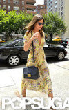 Miranda Kerr walked through NYC on Wednesday.
