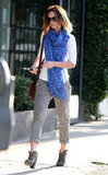 Emily Blunt was seen leaving a West Hollywood salon.