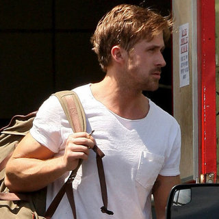 Ryan Gosling Leaving the Gym Pictures