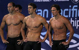 Jason Lezak, Michael Phelps, and Ryan Lochte
