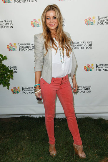 With Colored Jeans