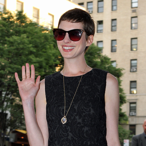 Anne Hathaway Catwoman Interview on Today Show