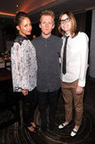 Nicole Richie enjoyed the celebration bash with brother-in-law Josh Madden and Amy Fleisher.