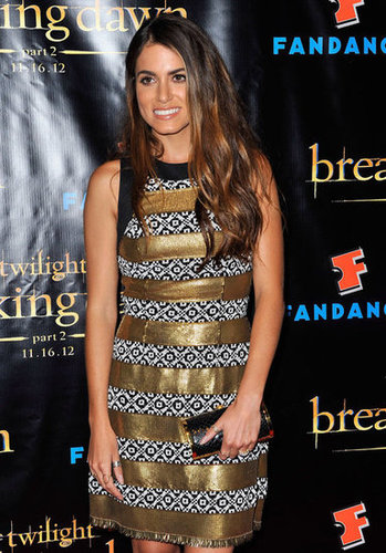Nikki Reed was in attendance at the Breaking Dawn Part 2 party at Comic-Con.