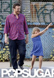 Jason Segel spent time with girlfriend Michelle Williams' daughter, Matilda Ledger.
