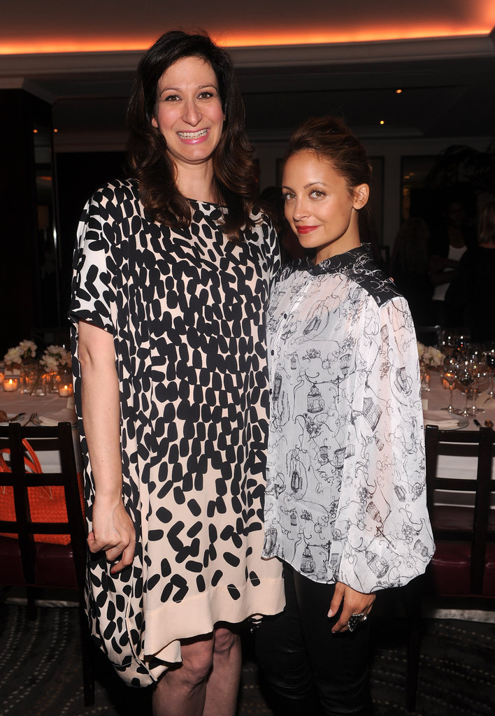 Nicole Richie and Ann Shoket snapped a photo together.