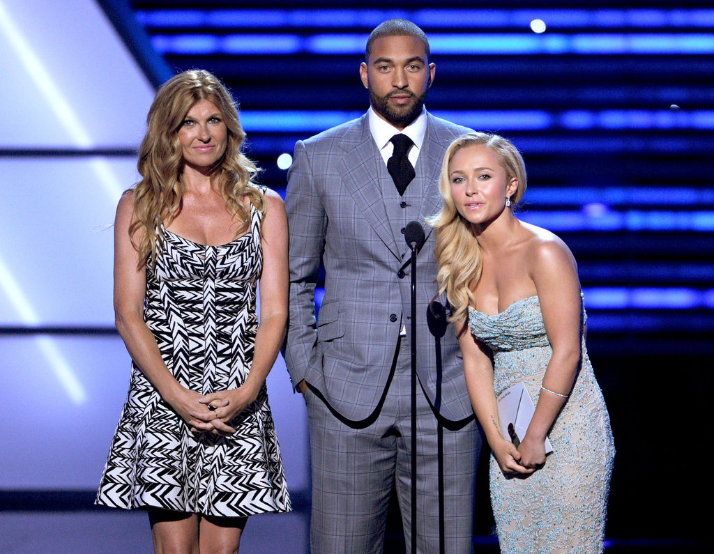 Connie Britton, Matt Kemp and Hayden Panettiere presented an ESPY award.