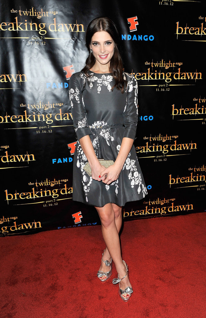 Ashley Greene posed at the Breaking Dawn Part 2 party at Comic-Con.