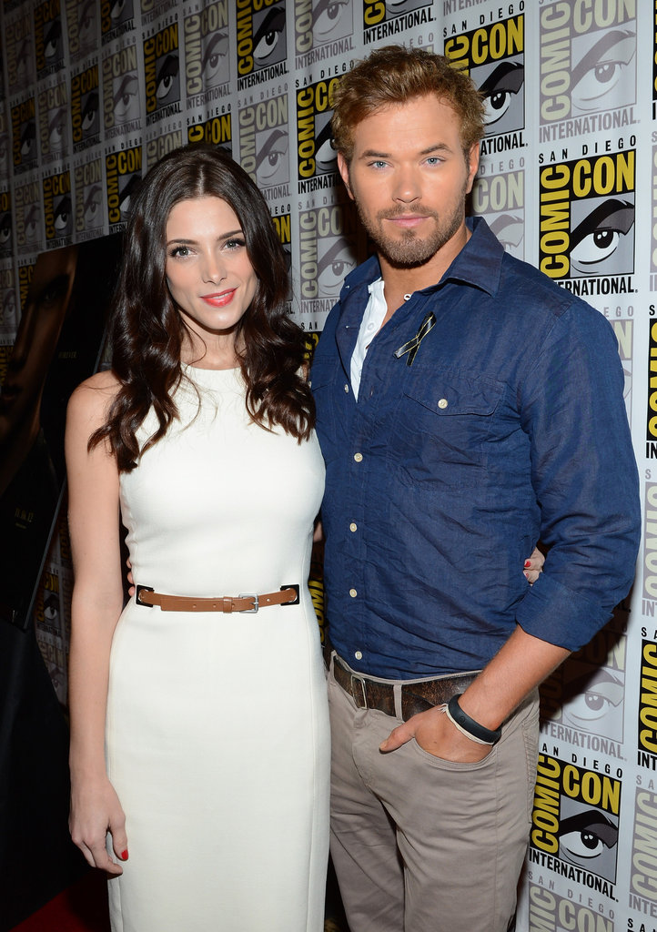 Ashley Greene and Kellan Lutz went to Comic-Con.