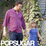 Jason Segel and Matilda Ledger were together in Brooklyn.