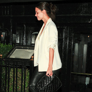 Katie Holmes at Dinner in NYC Pictures