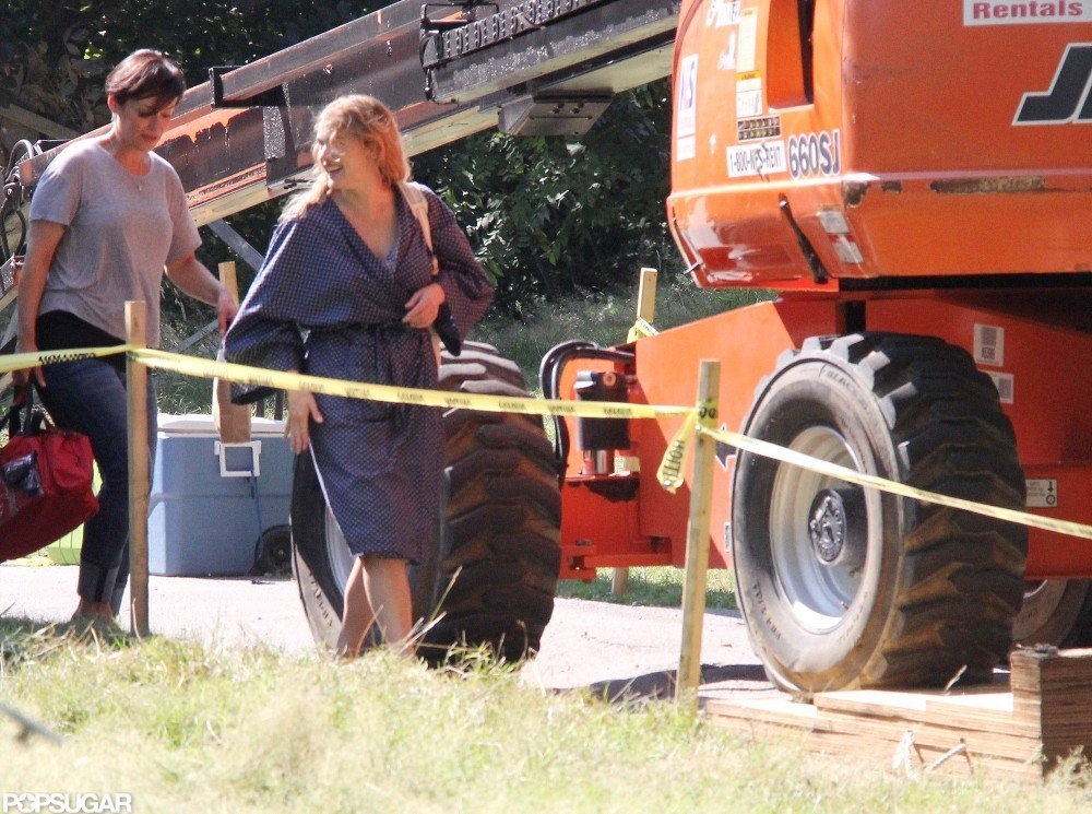 Kate Winslet filmed Labor Day.