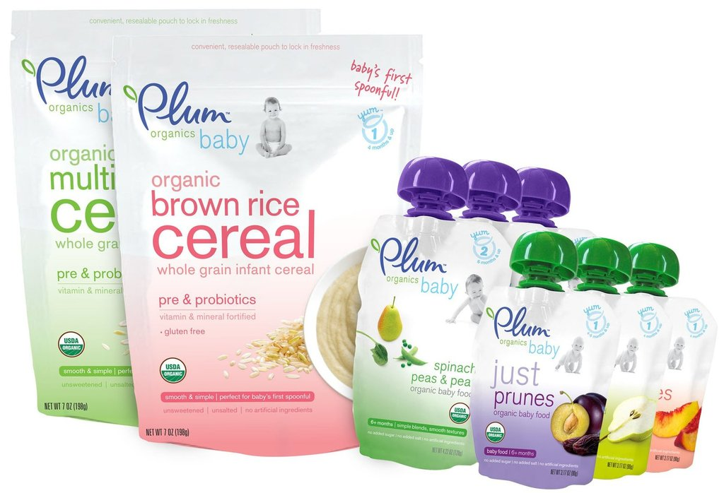 Plum Organics (6-Pack 4.22 oz For $8)