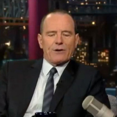 Bryan Cranston Talking Breaking Bad on Letterman (Video)