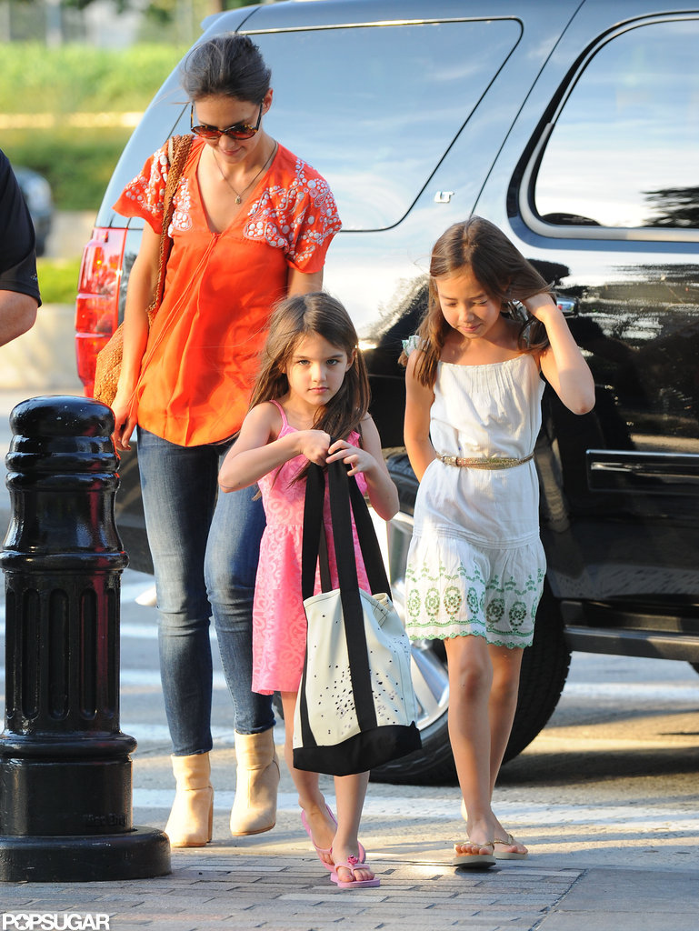 Katie Holmes and Suri Cruise spent time together in NYC.