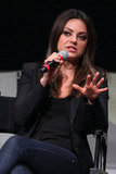Mila Kunis spoke onstage at Comic-Con about Oz: The Great and Powerful.