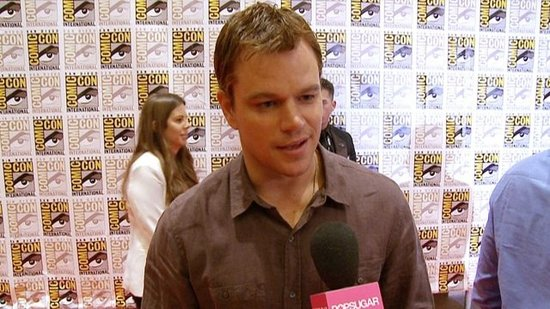Video: Matt Damon Opens Up About Mysterious Elysium and the New Bourne
