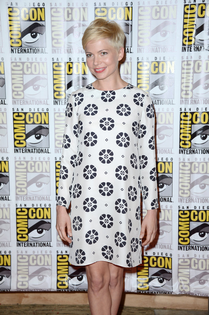Michelle Williams attended Comic-Con.