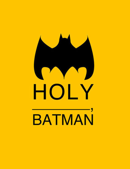 Holy Batman Print ($15)