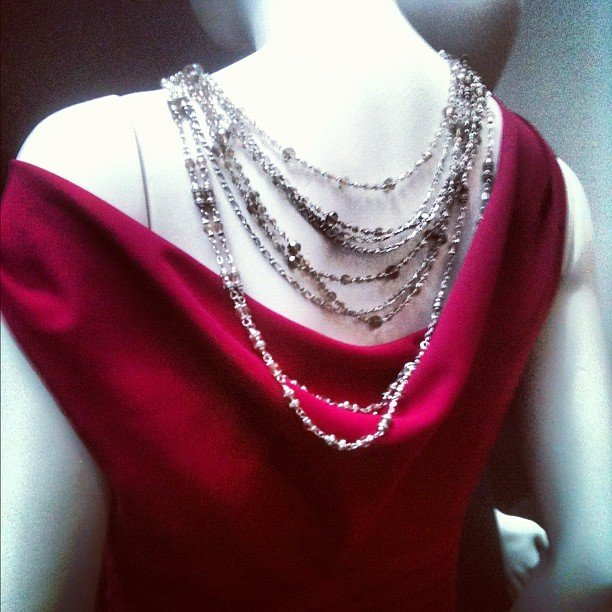 A glimpse of the jewels at Banana Republic Holiday.