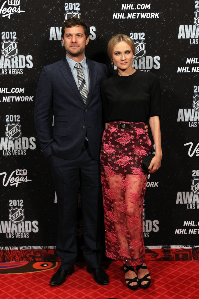 Diane took a fashion risk with this sheer lace-infused Alessandra Rich look at the 2012 NHL Awards — and we think it totally paid off.