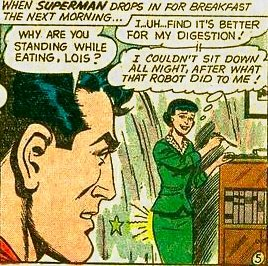 What did that robot do to Lois? Source: DC Comics