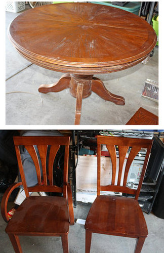 dining set before