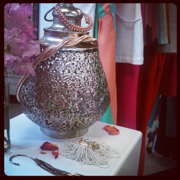 Moroccan delights from Kookai's S/S '12 accessories.